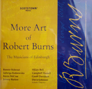More Art of Robert Burns - cover