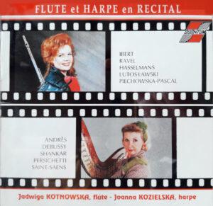 Flute et harpe - cover